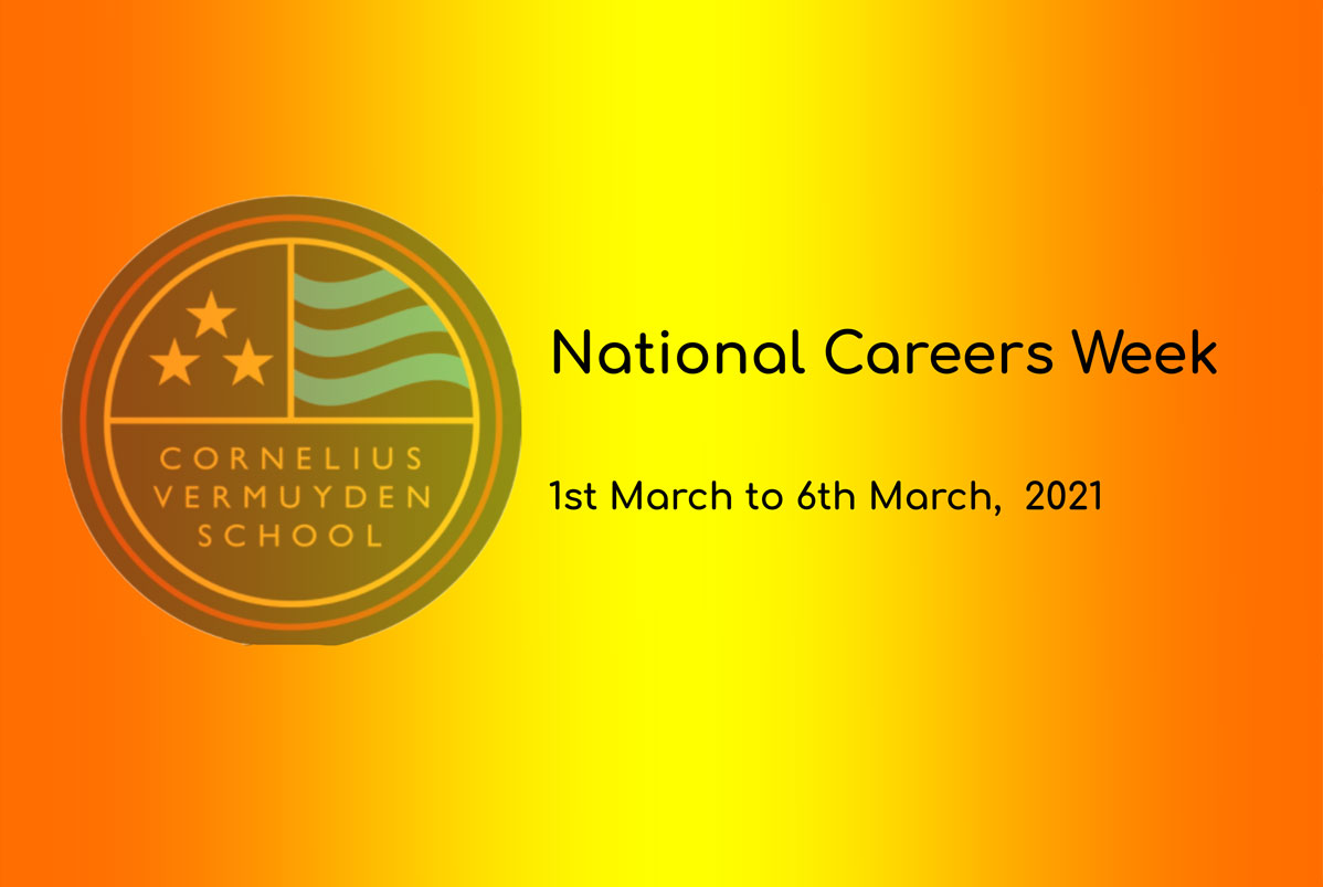 National Careers Week 1st March to 6th March.