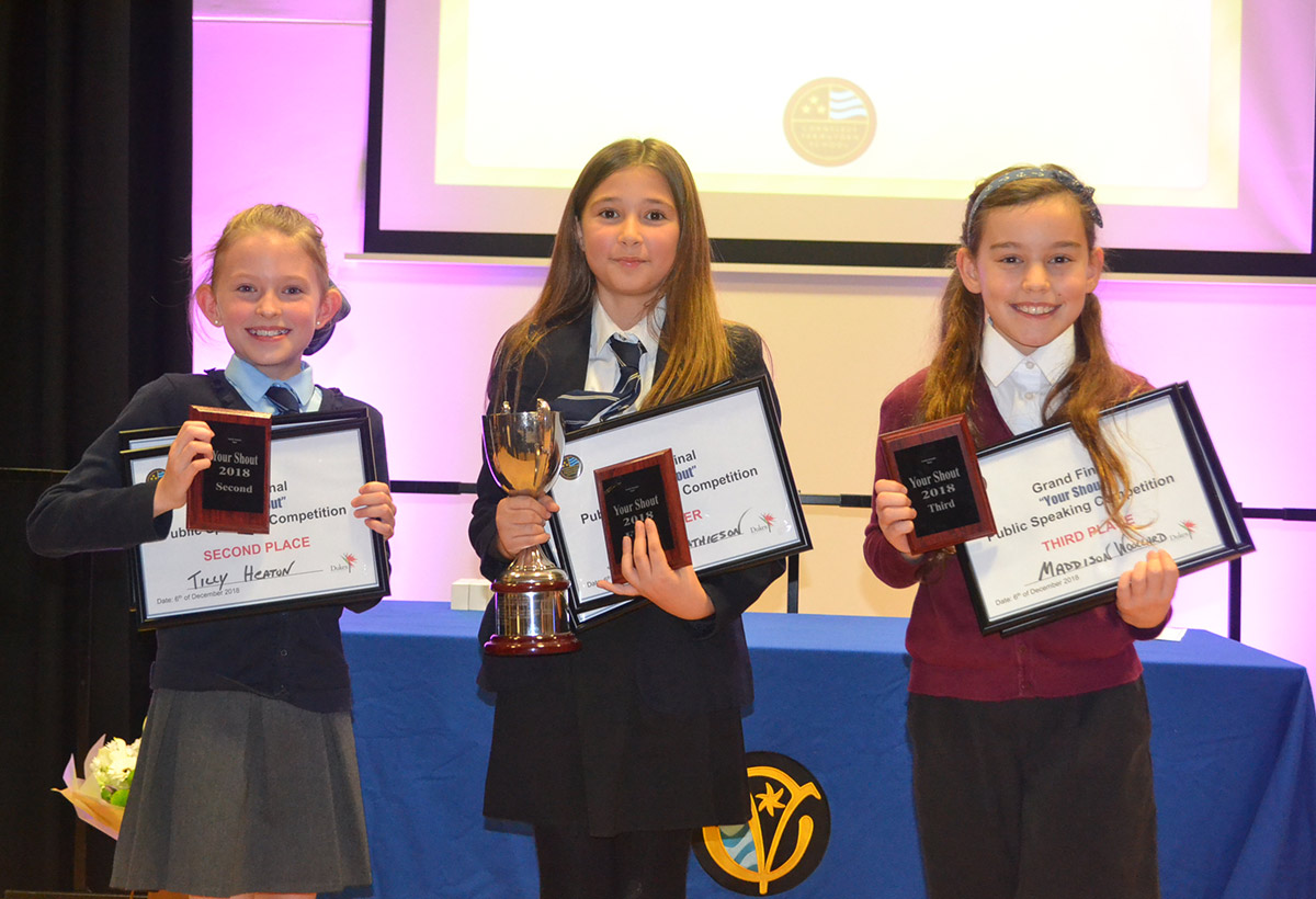Canvey Island Primary Students Make Themselves Heard at Cornelius Vermuyden's 10th 'Your Shout' Public Speaking Competition