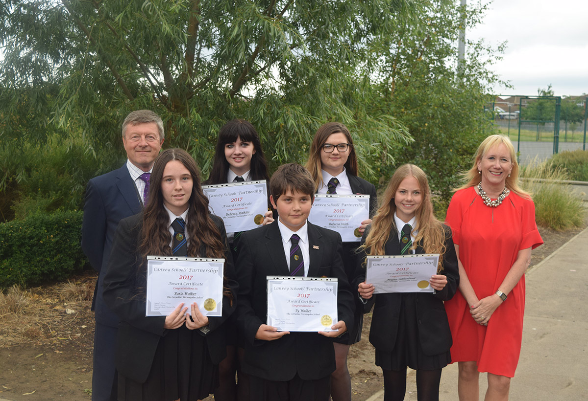 Canvey Schools Partnership Awards