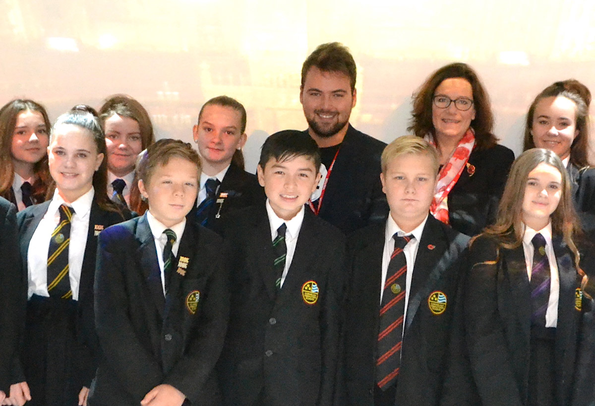 Cornelius Vermuyden School welcomes visit from MP