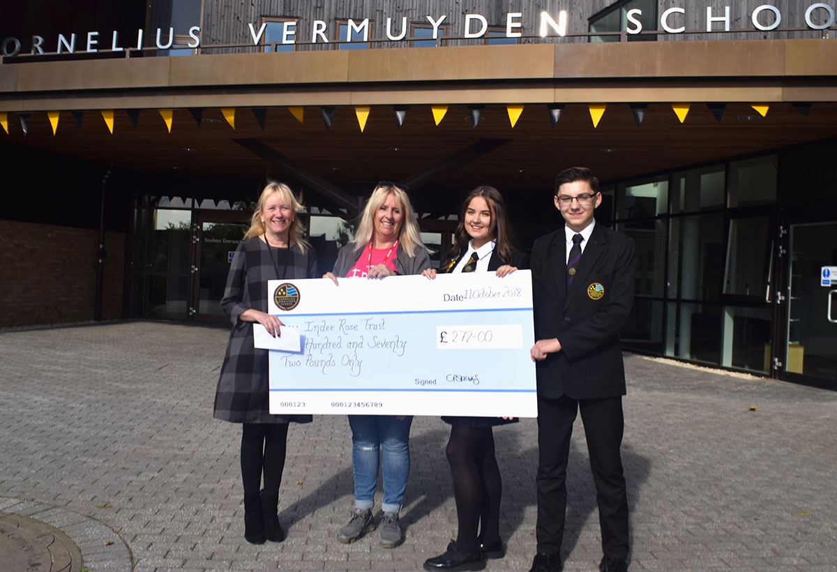 Students Raise Money for Charity