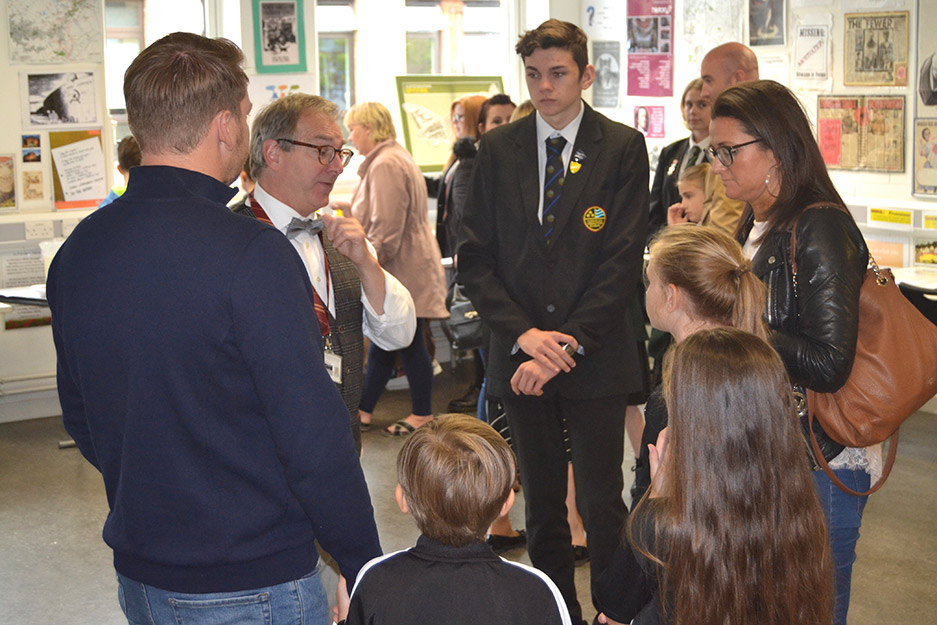 Open School Welcomes Prospective Students and Parents