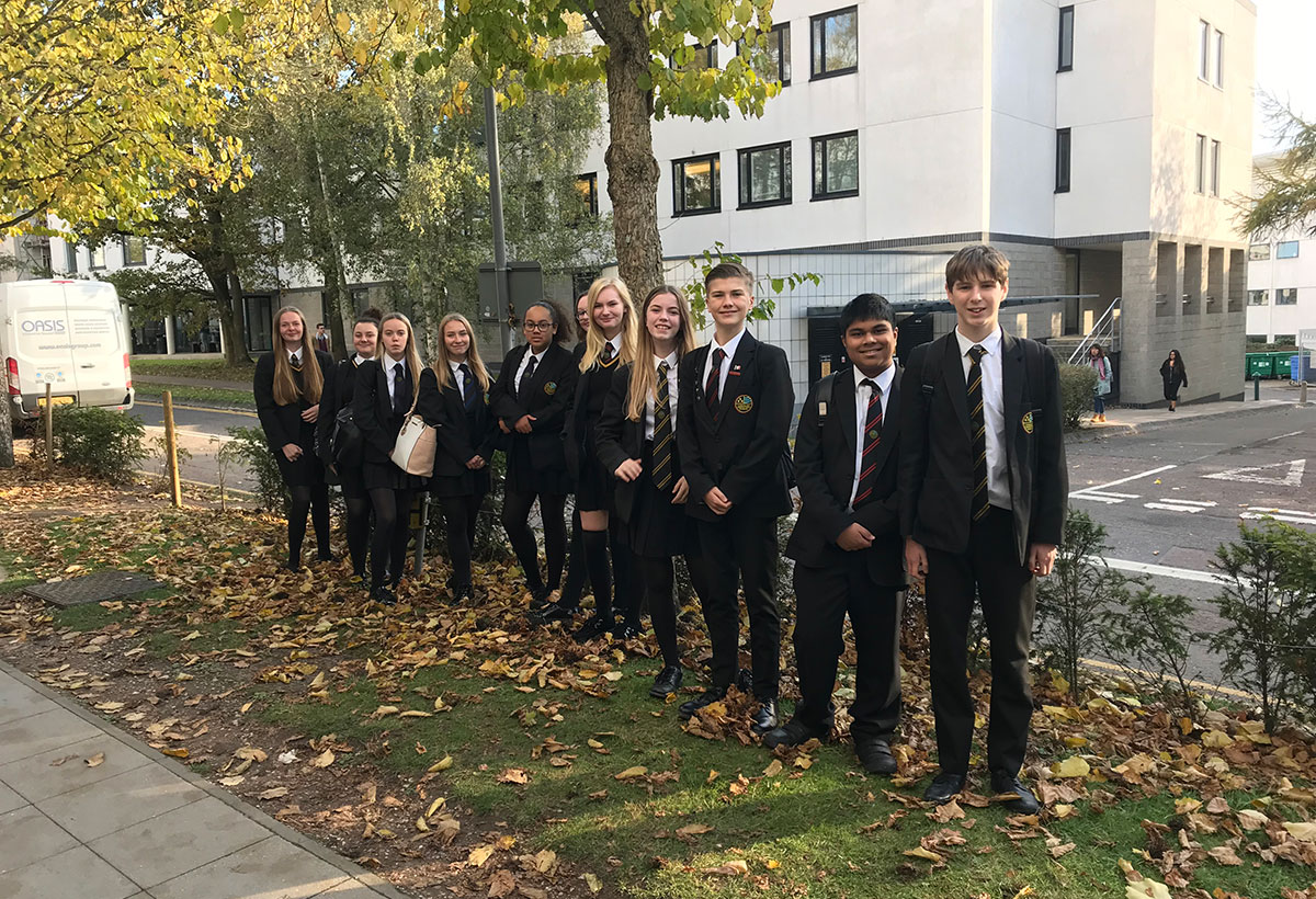 Year 9 Brilliant Club Visit University of East Anglia