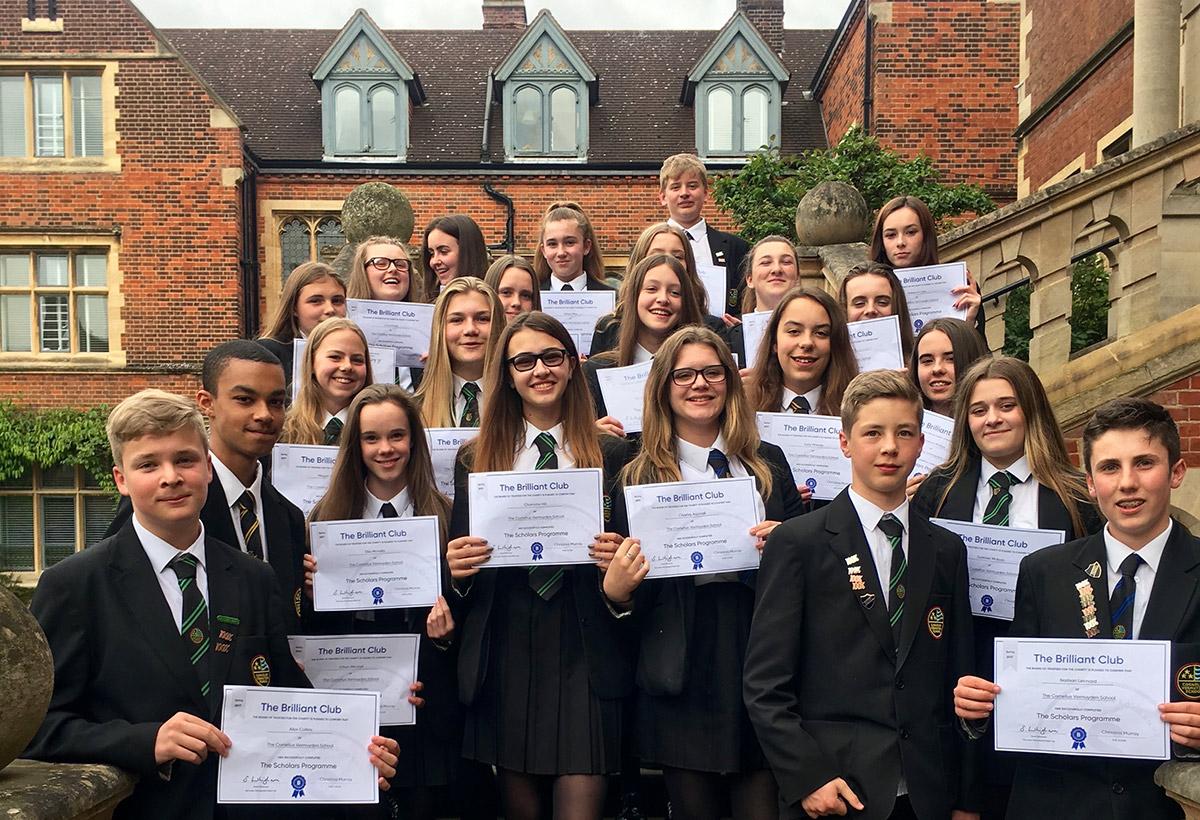 Year 9 Brilliant Club - The Graduation Ceremony at Selwyn College, Cambridge
