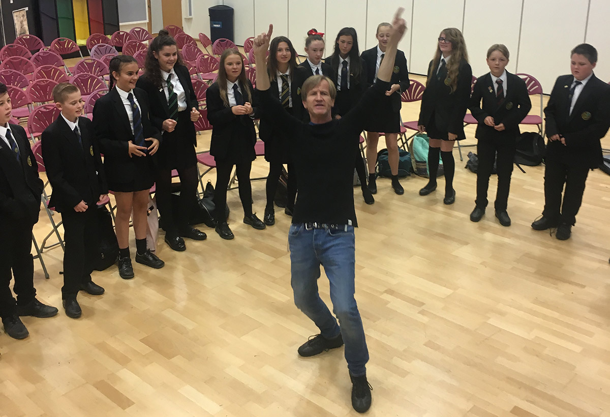 National Poetry Day and visit from poet Steve Tasane