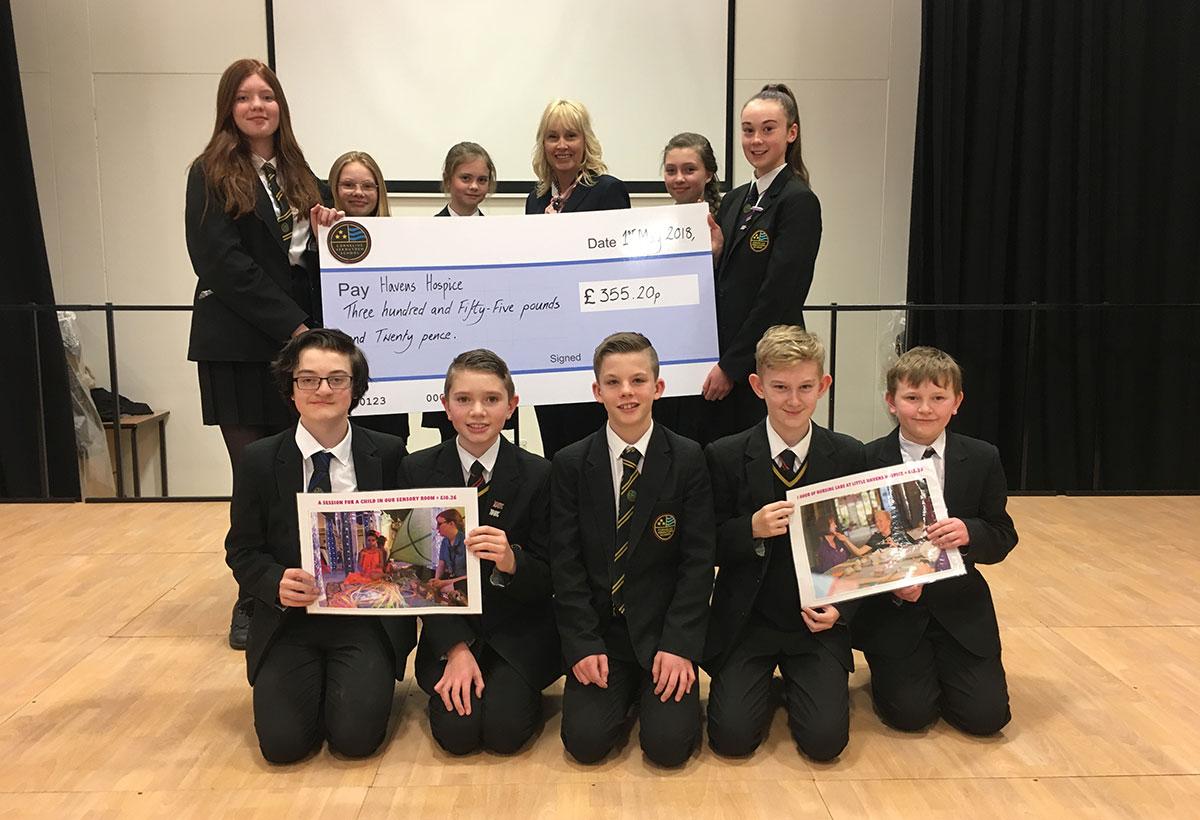 Year 7 Pupils Raise Money for Little Havens in Readathon