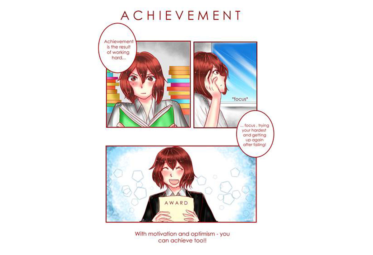 Student Creates Comic for Jack Petchey Competition