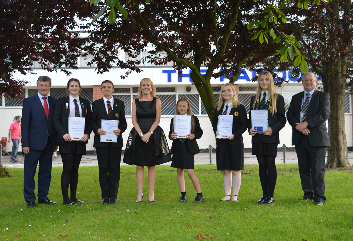 Canvey School Partnership Awards Cornelius Vermuyden School