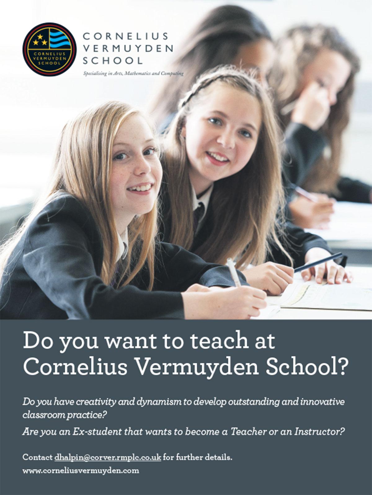 do you want to teach at cornelius vermuyden school cornelius do you want to teach at cornelius vermuyden school